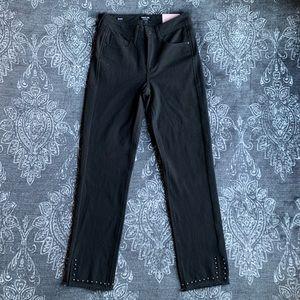 NYDJ Curves 360 Studded Slim Straight Leg Jeans